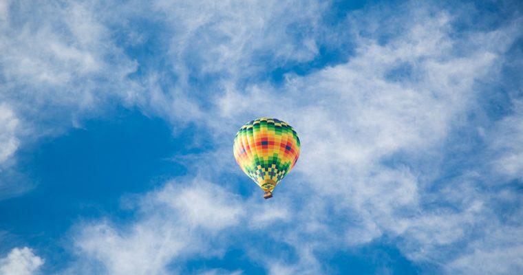 Prøv en tur i luftballon med disse 3 simple trin!